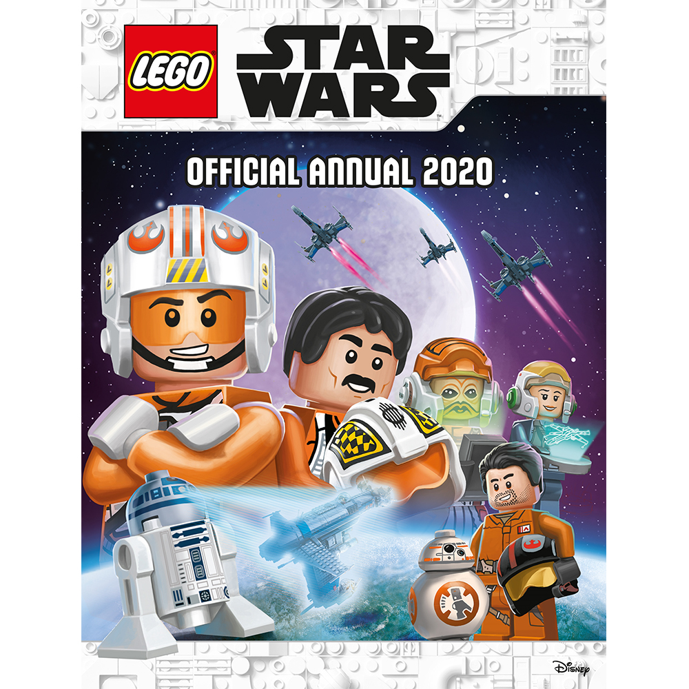 Lego Games 2020.Lego Star Wars Official Annual 2020